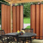 Cedar Bamboo Outdoor Curtain (40 x 84)
