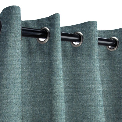 Sunbrella Cast Lagoon Outdoor Curtain