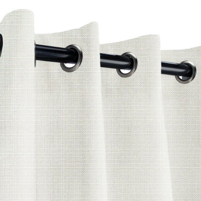 Sunbrella Linen Natural Outdoor Curtain