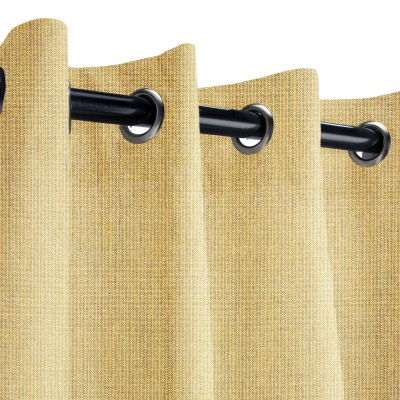 Sunbrella Spectrum Almond Outdoor Curtain