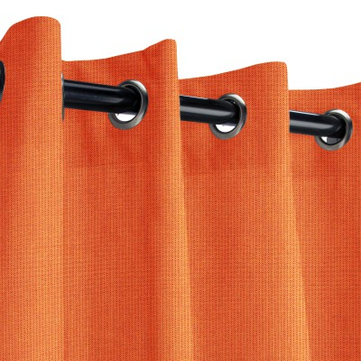 Sunbrella Spectrum Cayenne Outdoor Curtain