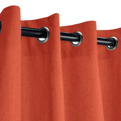 Sunbrella Spectrum Grenadine Outdoor Curtain