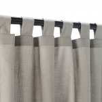 Dove Outdoor Curtain with Tabs