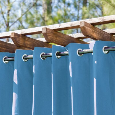 Tempotest Blue Lagoon Extrawide Outdoor Curtain