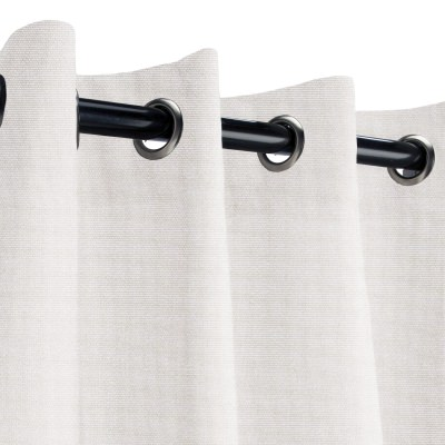 Sunbrella Canvas Canvas Outdoor Curtain