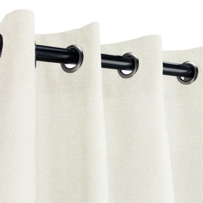 Sunbrella Canvas Natural Outdoor Curtain