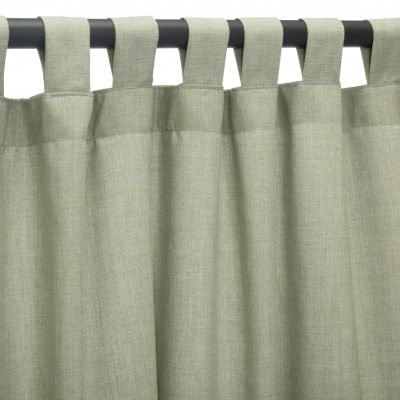 Sunbrella Cast Oasis Outdoor Curtain with Tabs in 50 in x 108 in