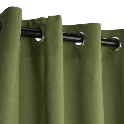 Sunbrella Spectrum Cilantro Outdoor Curtain