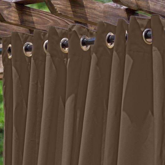 Tempotest Milk Chocolate Extrawide Outdoor Curtain