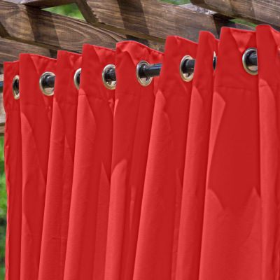 Tempotest Rosso Extrawide Outdoor Curtain