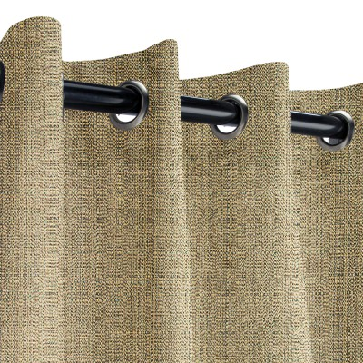 Sunbrella Linen Pampas Outdoor Curtain