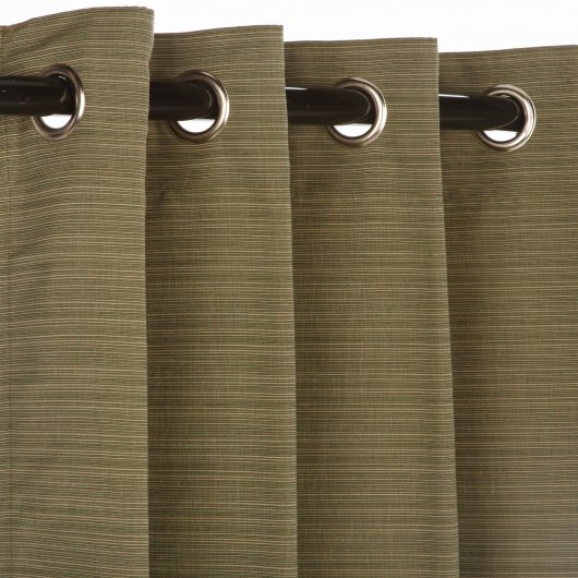 Sunbrella Dupione Laurel Outdoor Curtain