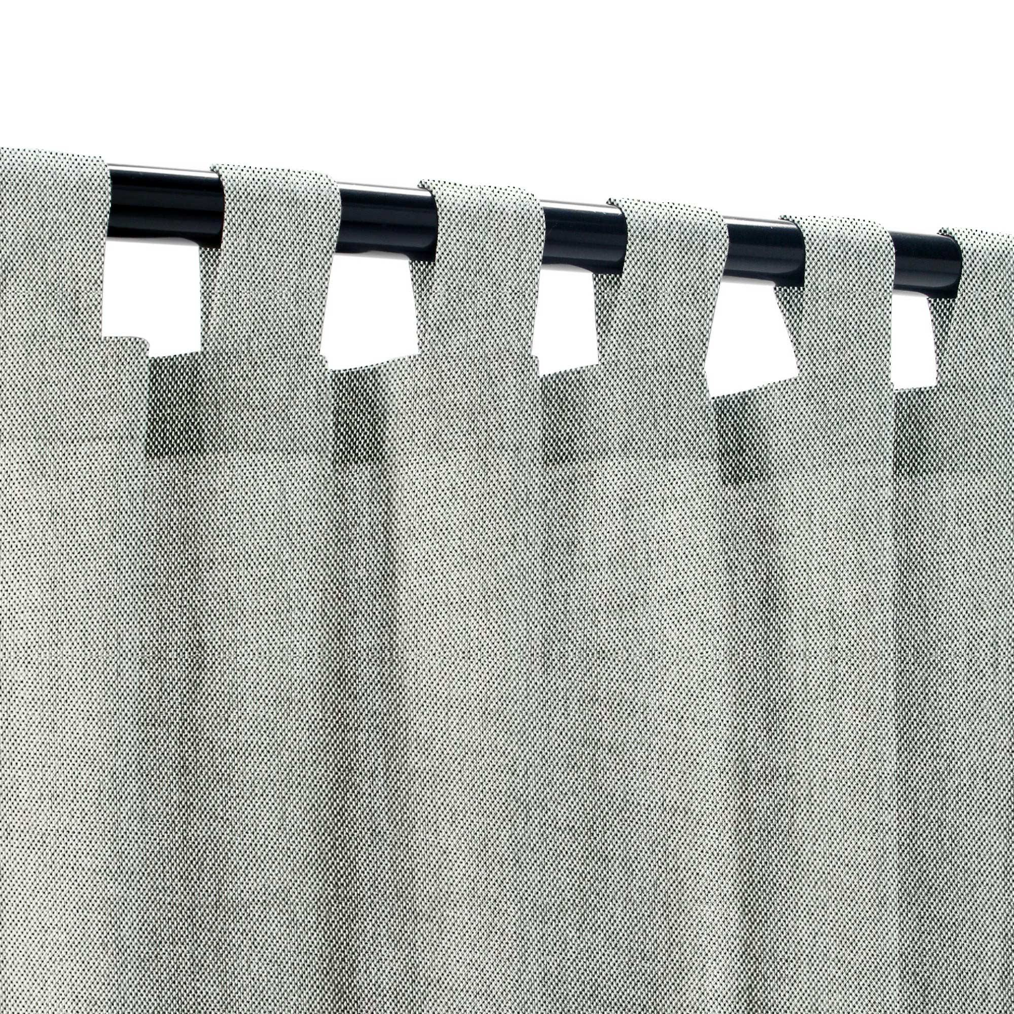 Tempotest Siena Stone Extrawide Outdoor Curtain Tempotest Outdoor Curtains