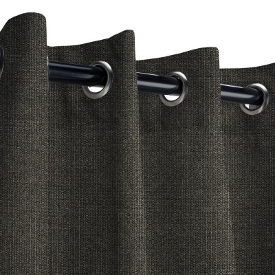 Sunbrella Spectrum Carbon Outdoor Curtain