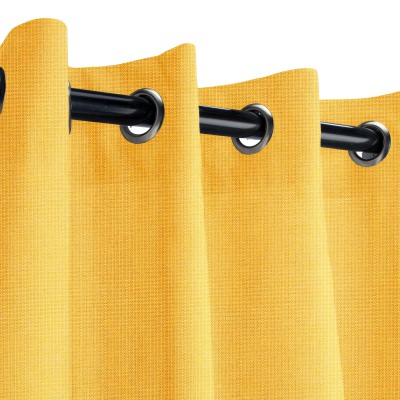 Sunbrella Spectrum Daffodil Outdoor Curtain