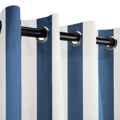 Sunbrella Cabana Regatta Outdoor Curtain