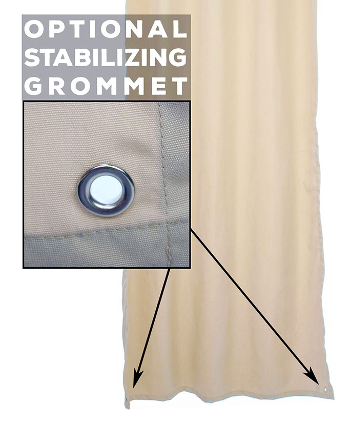 Stabilizing Grommets